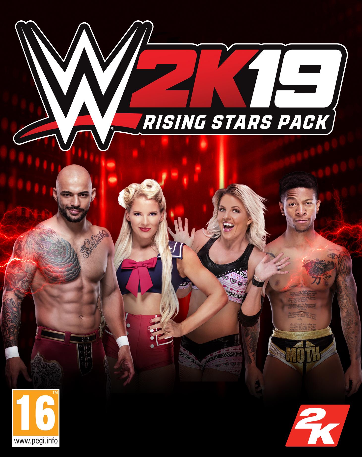 WWE 2K19 Rising Stars Pack (PC) DIGITÁLIS