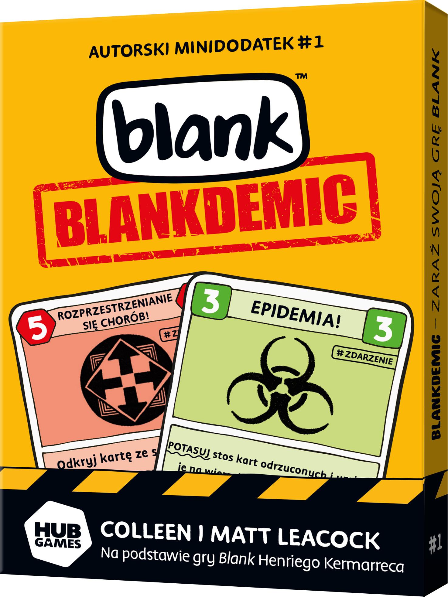 Blank: Blankdemic (Gra Karciana)