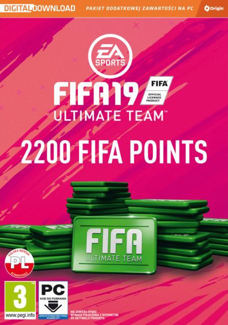 FIFA 19 - Points (PC) 2200 punktów DIGITAL