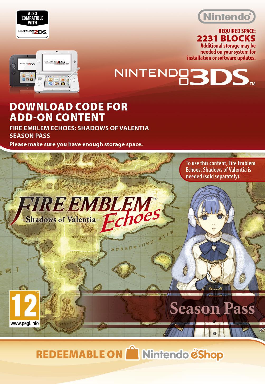 Fire Emblem: Echoes Shadow of Valentia Season Pass (3DS Digital)