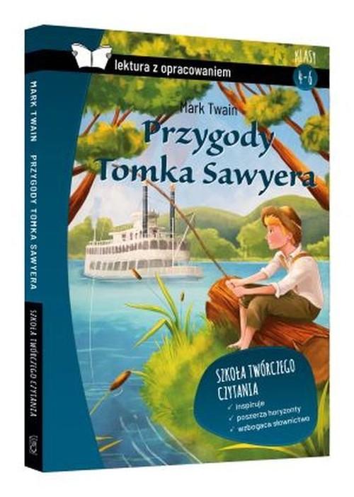 Przygody Tomka Sawyera lektura z opracowaniem / SBM