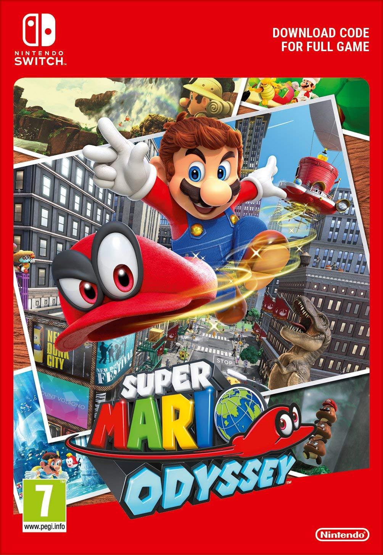 Super Mario Odyssey (Switch Digital)