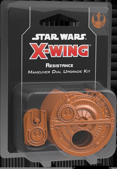 Star Wars: X-Wing - Resistance Maneuver Dial Upgrade Kit (druga edycja)