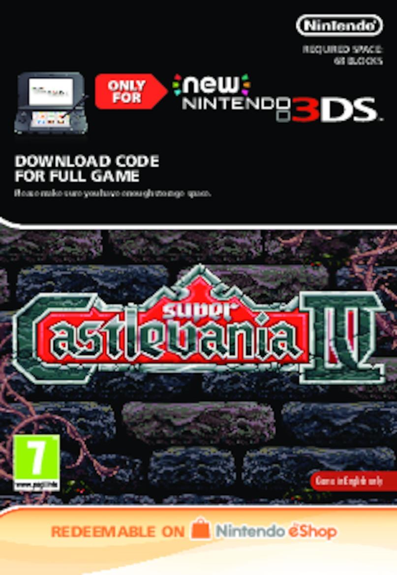 Super Castlevania IV (NEW 3DS) DIGITAL