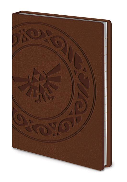 Legend of Zelda Premium Notatnik a6 triforce