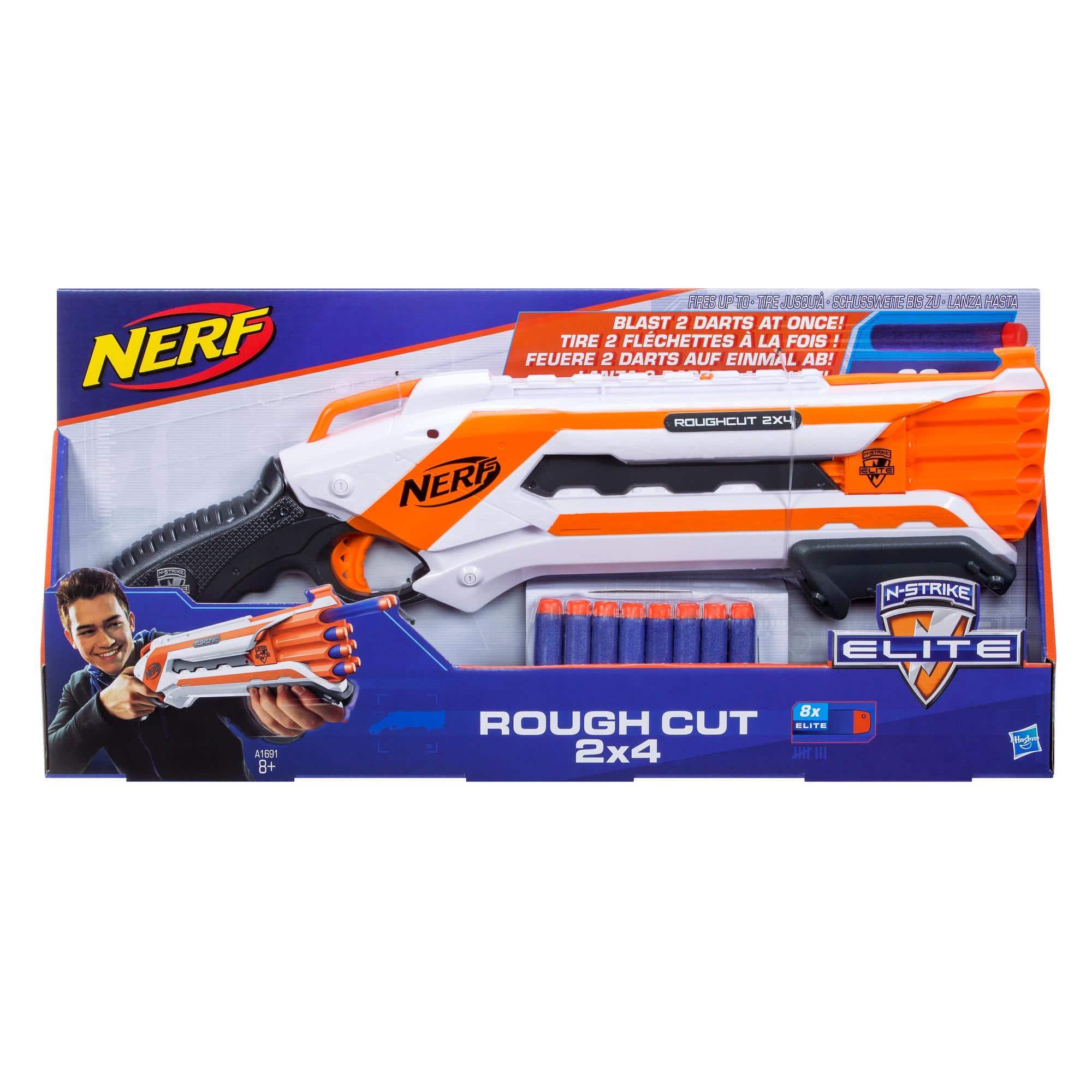 Wyrzutnia Nerf Rough Cut Elite