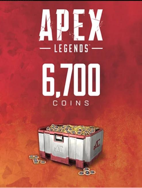 Apex Legends monety - 6700 coins (PC) klucz Origin