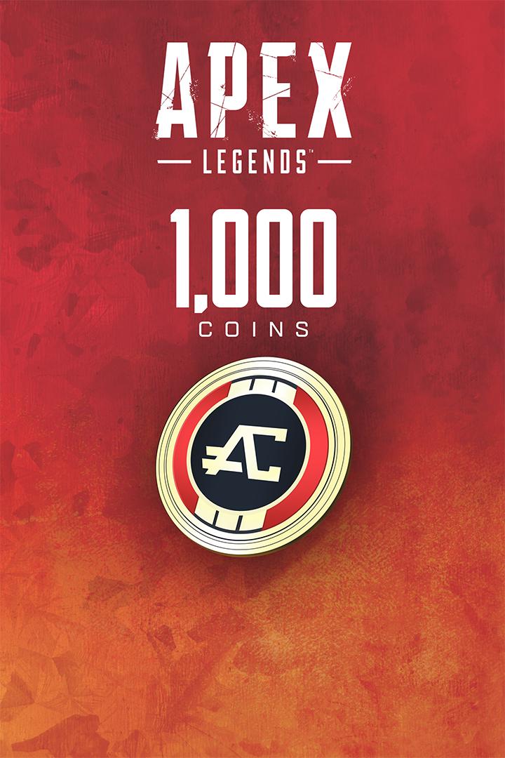 Apex Legends - 1000 Apex Coins (PC) DIGITÁLIS