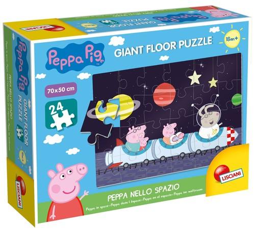 Puzzle podłogowe Świnka Peppa w kosmosie 24
