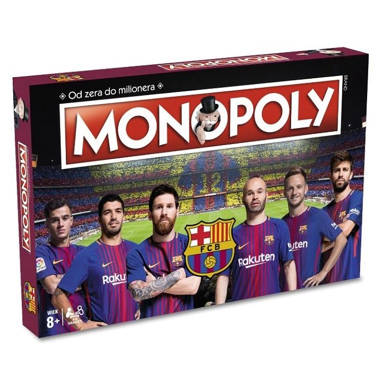 Monopoly FC Barcelona (Gra Planszowa)