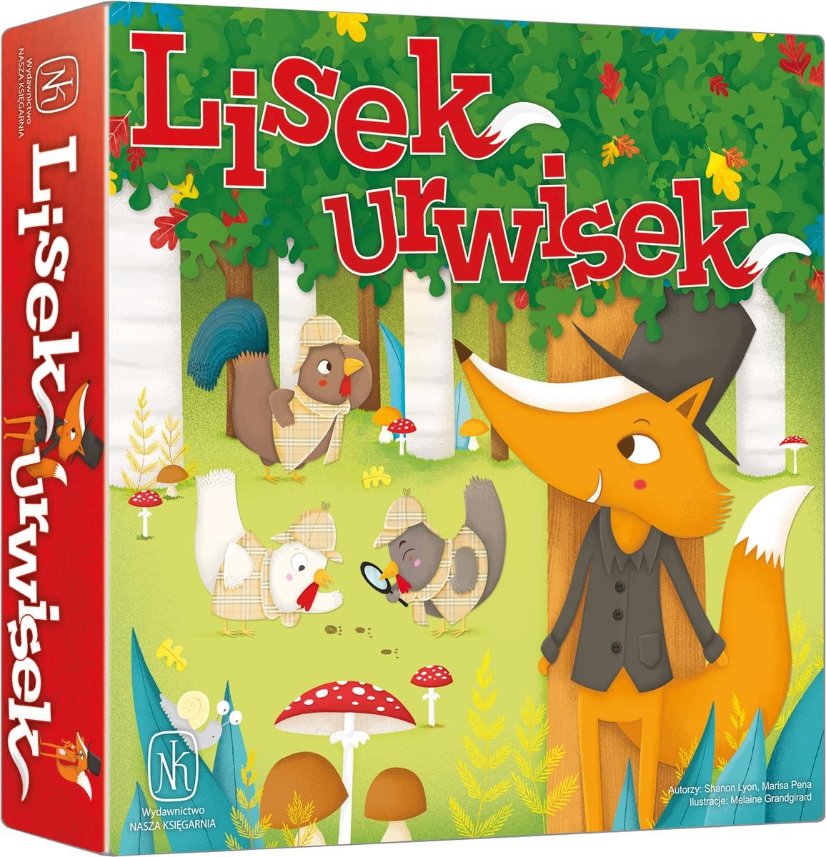 Lisek urwisek (Gra Planszowa)