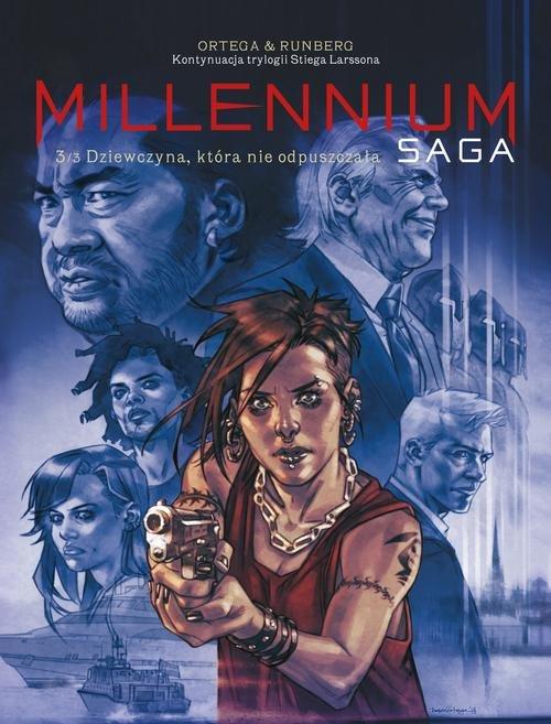 Millenium Saga Tom 3 Dziewczyna, która nie odpuszczała