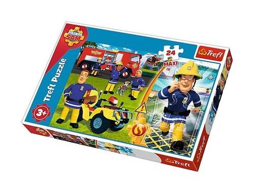 Puzzle Maxi Dzielny Strażak Sam 24
