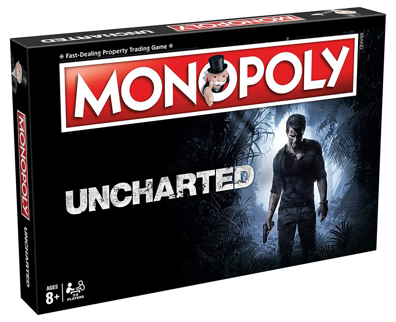 Monopoly Uncharted (Gra Planszowa) + Koszulka
