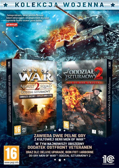 MEN OF WAR: ODDZIAŁ SZTURMOWY 2 – KOLEKCJA WOJENNA (PC) PL
