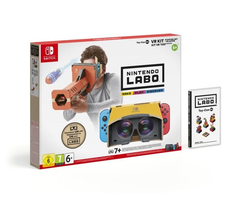 Nintendo Labo VR Kit -Starter Set + Blaster (Switch)