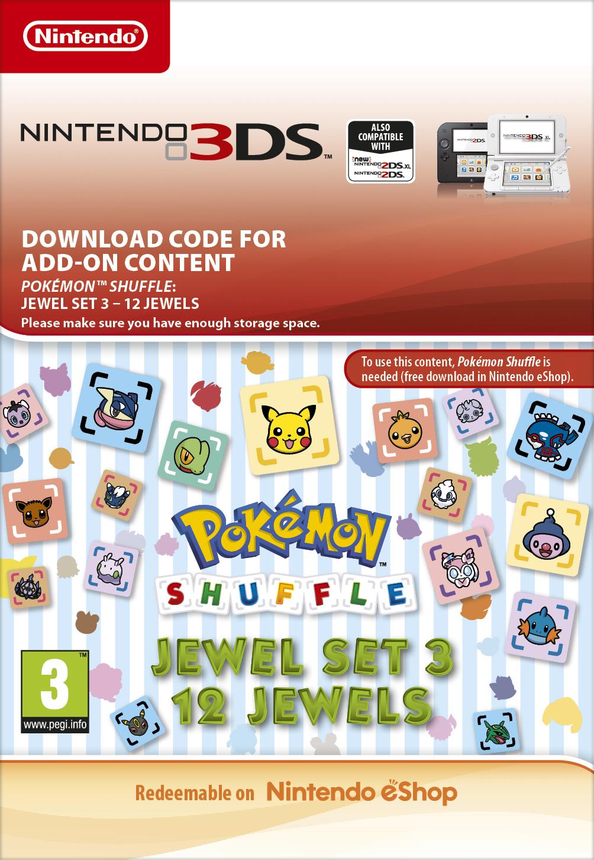 Pokémon Shuffle: 12 Jewels (3DS) DIGITAL