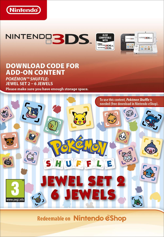 Pokémon Shuffle: 6 Jewels (3DS) DIGITAL