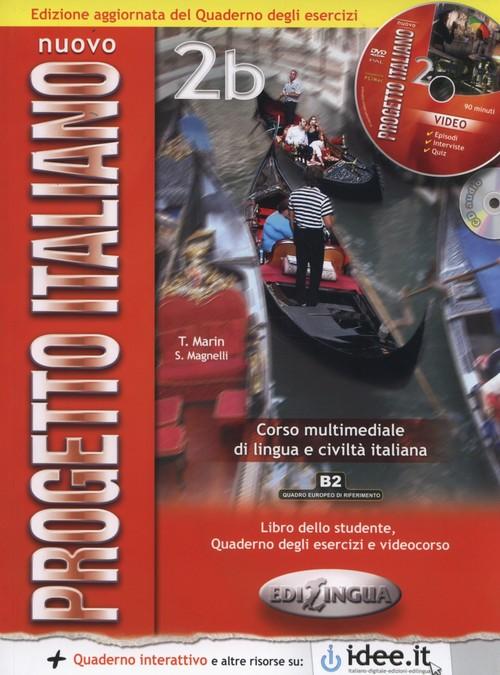 Nuovo progetto italiano 2B Libro dello studente + CD + DVD