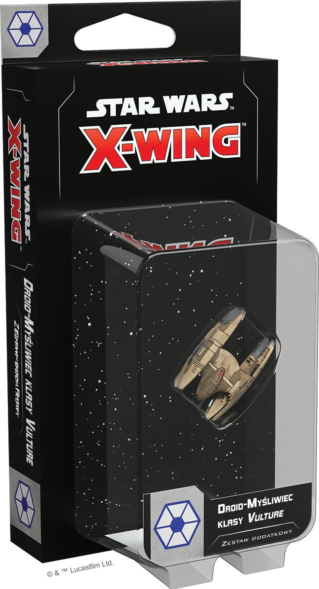 Star Wars: X-Wing - Droid-myśliwiec klasy Vulture (druga edycja) (Gra Figurkowa)