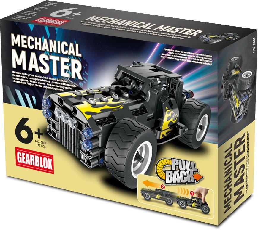 Klocki konstrukcyjne Gearblox Mechanical Master Samochód