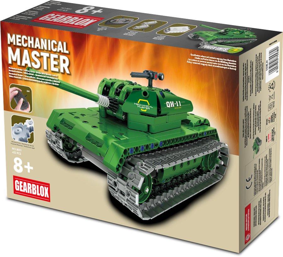 Klocki konstrukcyjne Gearblox Mechanical Master Czołg