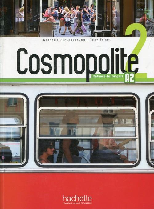 Cosmopolite 2 Podręcznik + DVD + Parcours
