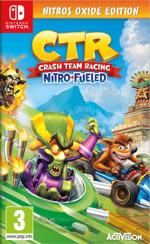 Crash Team Racing Nitro-Fueled Nitros Oxide Edition (SWITCH) + BONUS!