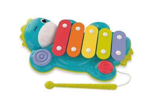 Baby Clementoni Dino cymbałki