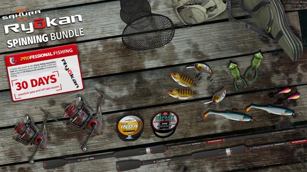 Professional Fishing: Sakura Ryokan Spinning (PC) Klucz Steam