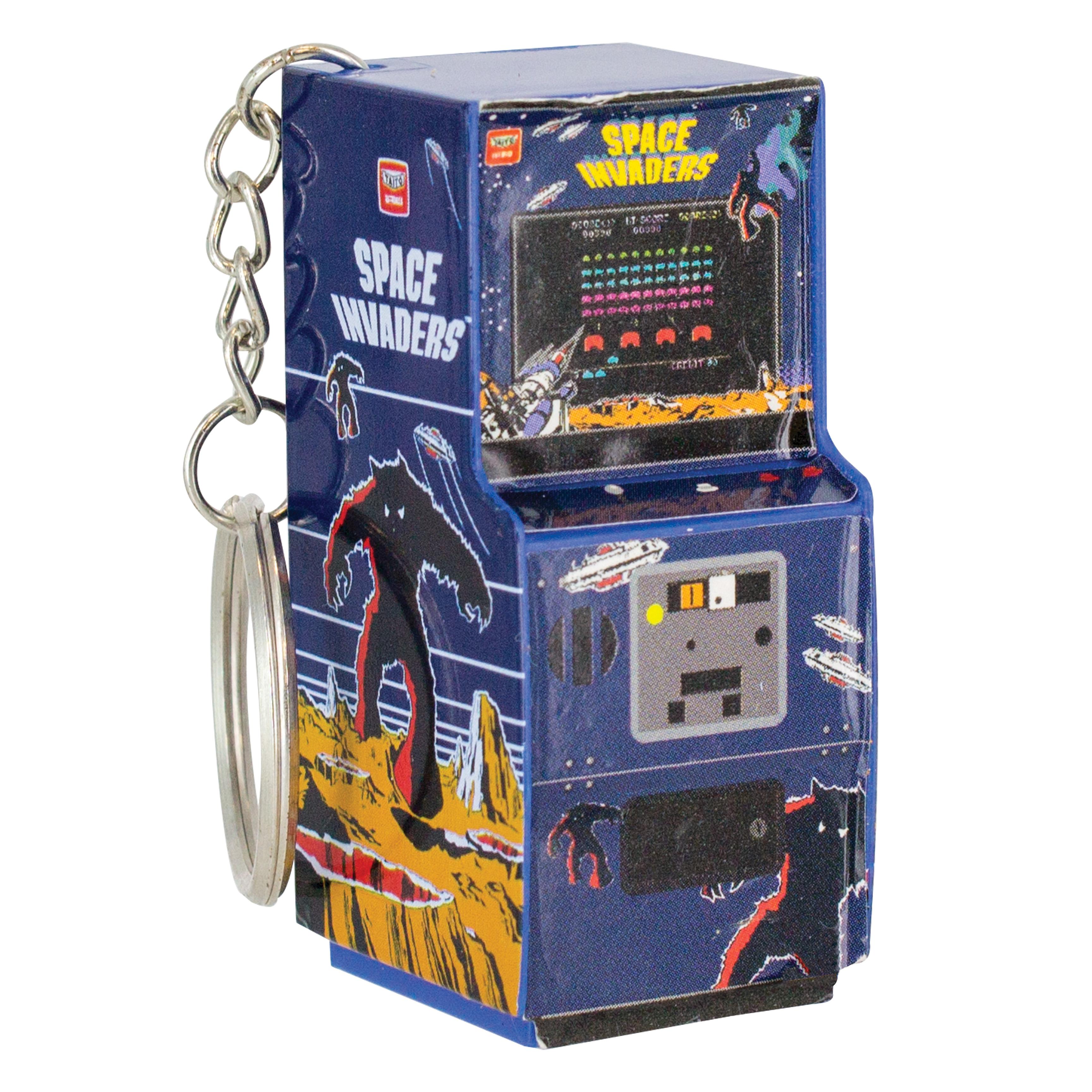 Space Invaders Arcade Brelok