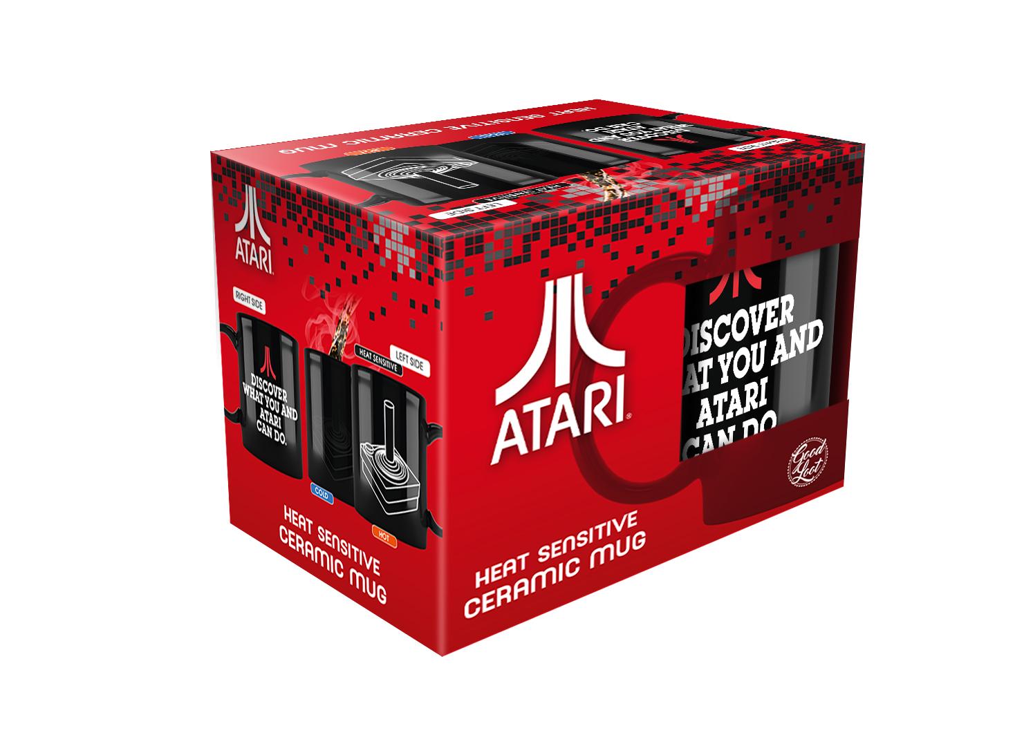 Atari Heat Reveal Mug - kubek