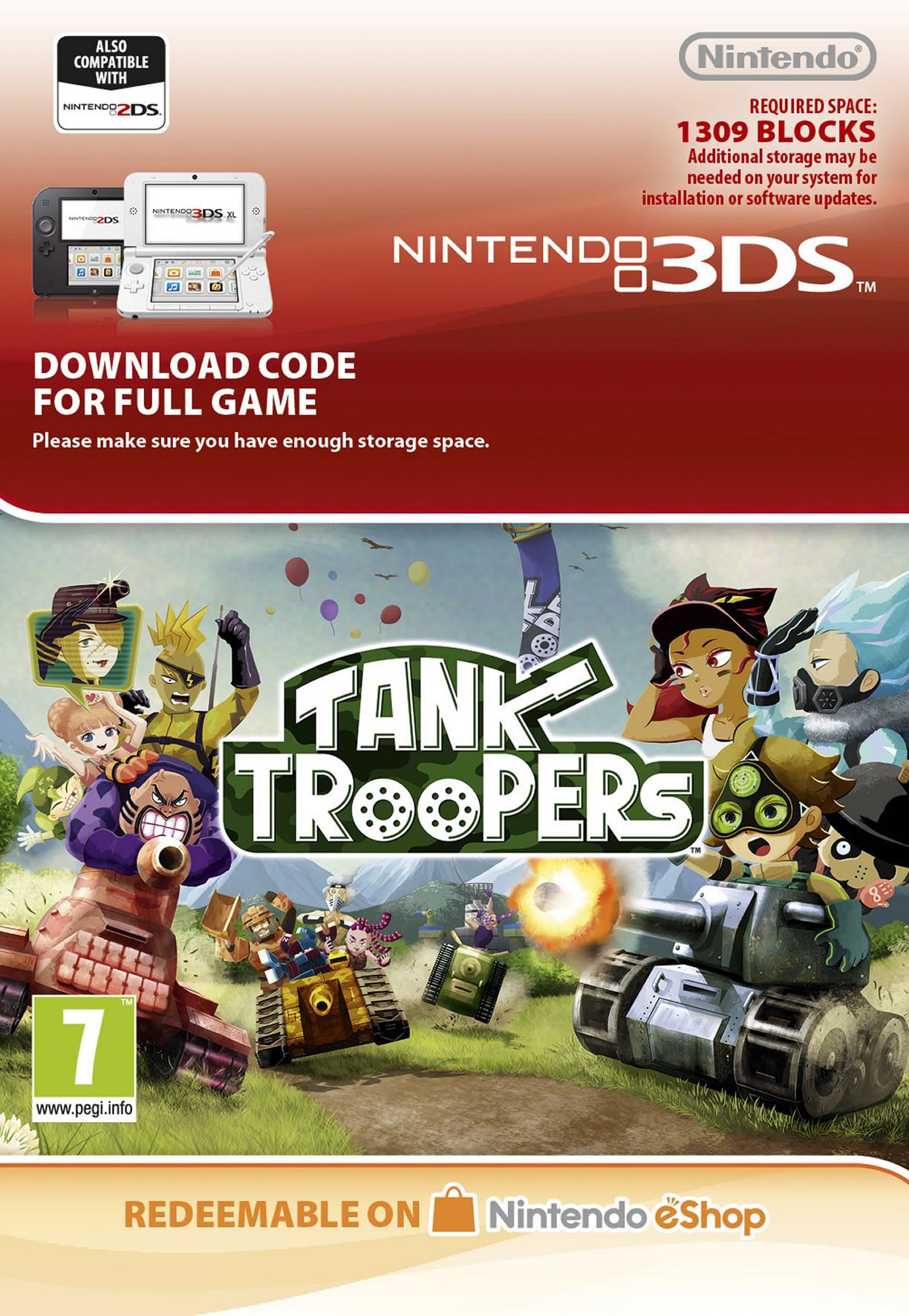 Tank Troopers (3DS) DIGITAL