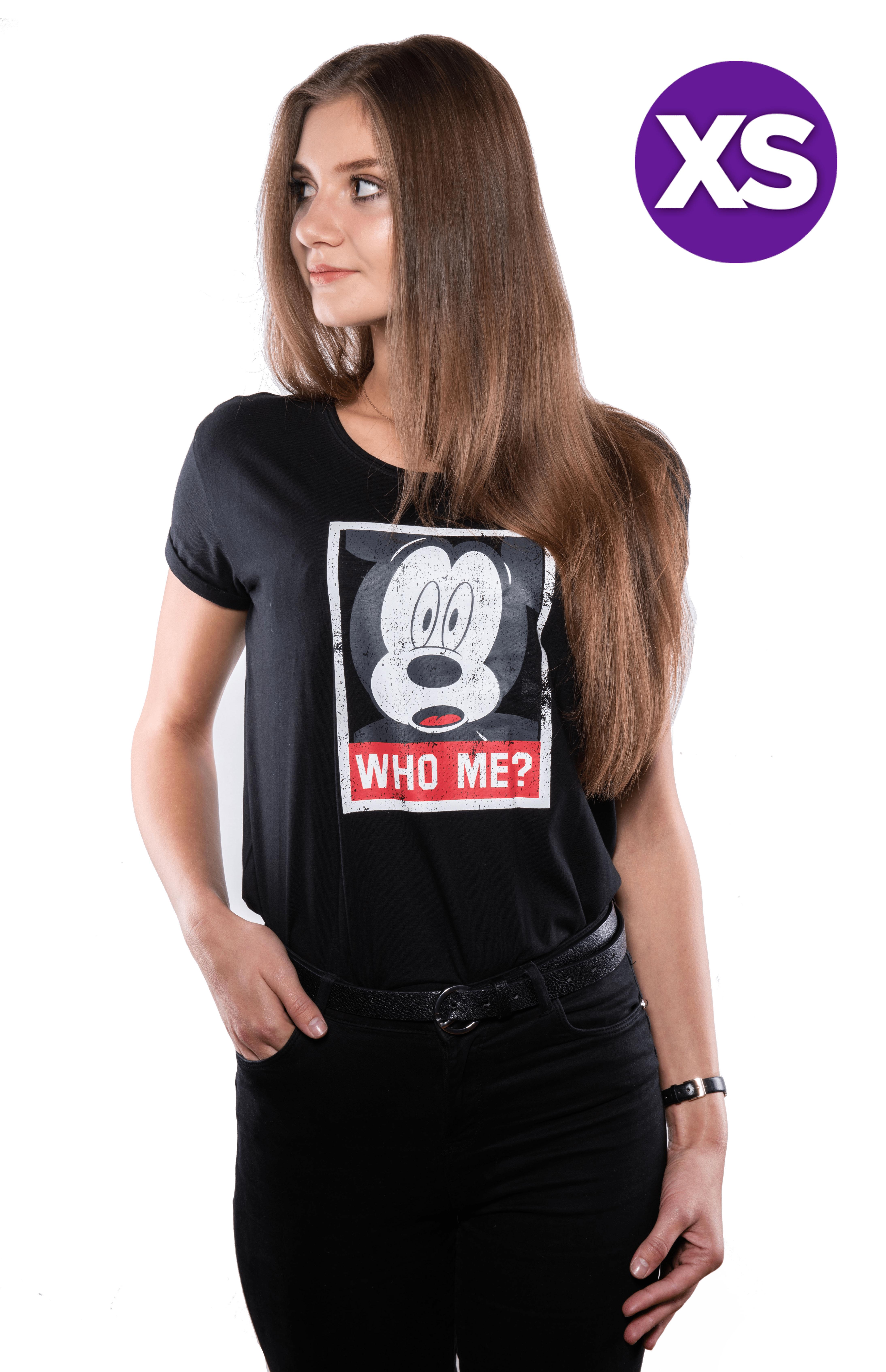 Disney Mickey Ladies T-shirt XS