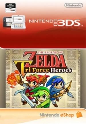 The Legend of Zelda: Tri-Force Heroes (3DS) DIGITAL