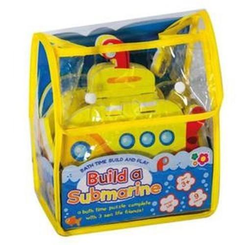 Puzzle do zabawy podczas kąpieli Zbuduj łódź podwodną