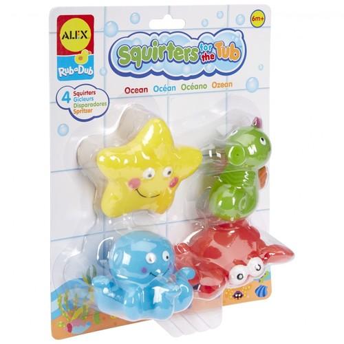 Bath Squirters Ocean Zabawki do kąpieli Morskie zwierzątka