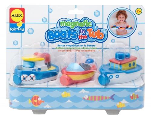 Magnetyczne łódki do kąpieli