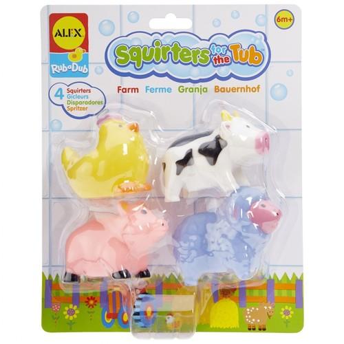 Zwierzątka do kąpieli Farma