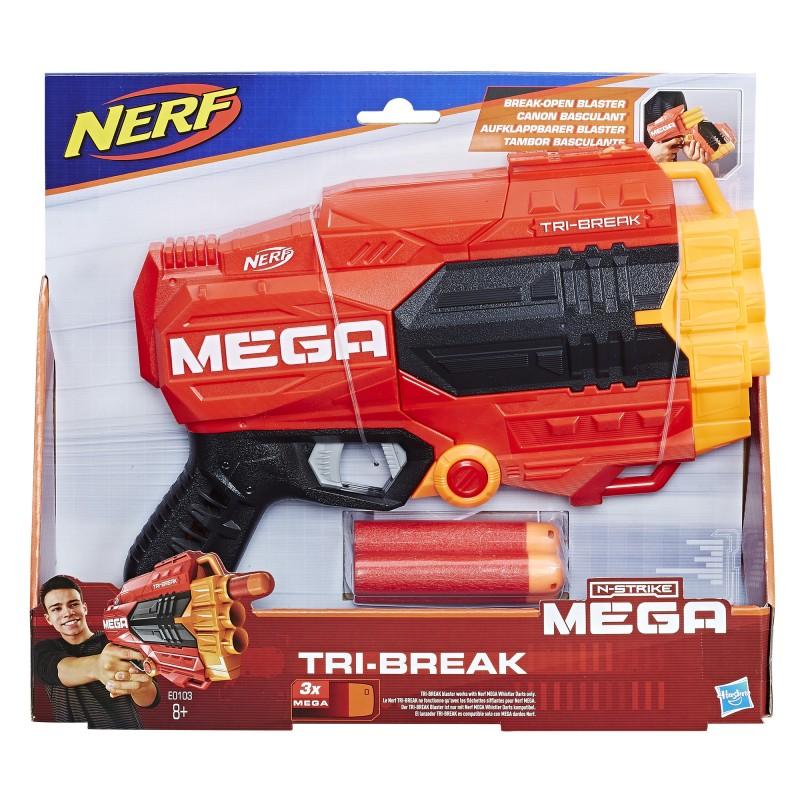 Hasbro Nerf N-Strike - Wyrzutnia MEGA Tri-Break