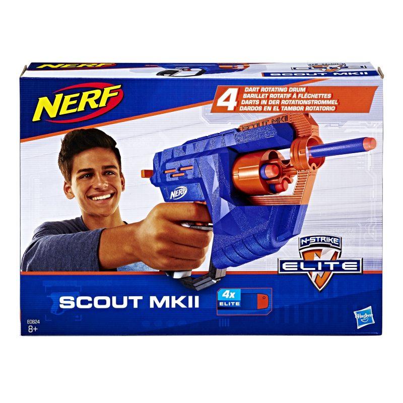 Hasbro Nerf N-Strike Elite - Wyrzutnia Skaut Scout MKII