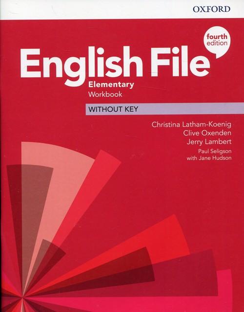 English File Elementary Workbook without key