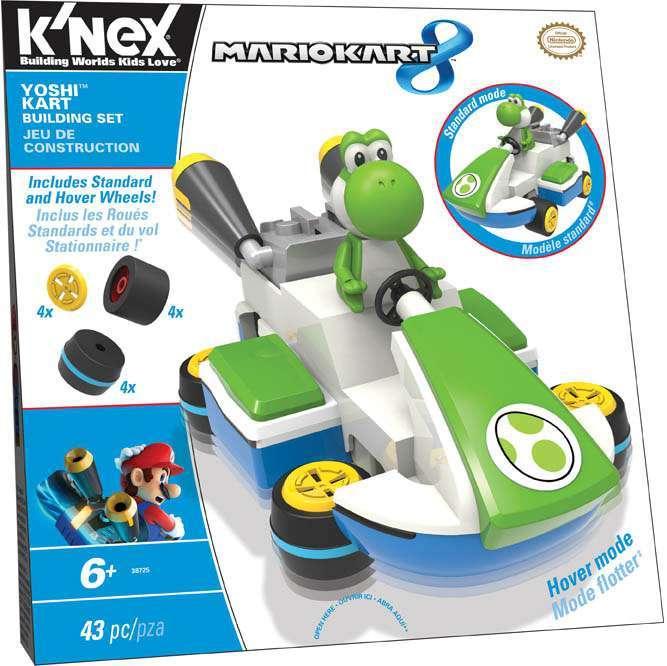 K'NEX Super Mario Mario Kart 8 Yoshi Kart Set