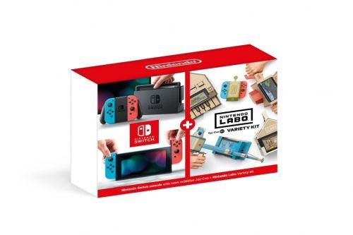 Konsola Nintendo Switch Red&Blue + Nintendo Labo Variety kit (Switch)