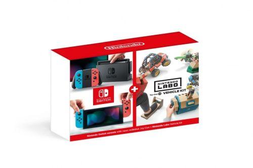 Konsola Nintendo Switch Red&Blue + Nintendo Labo Vehicle kit (Switch)