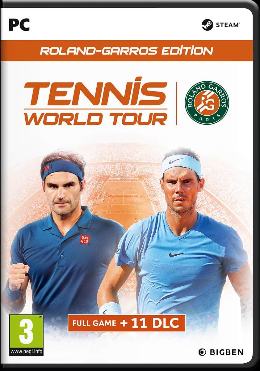 Tennis World Tour Roland-Garros Edition (PC) DIGITÁLIS (Steam kulcs)