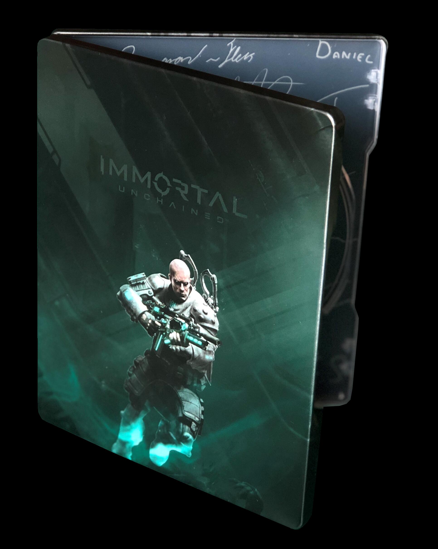 Immortal Unchained Steelbook