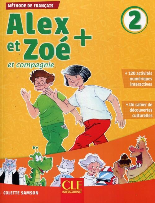 Alex et Zoe + 2 podręcznik + CD