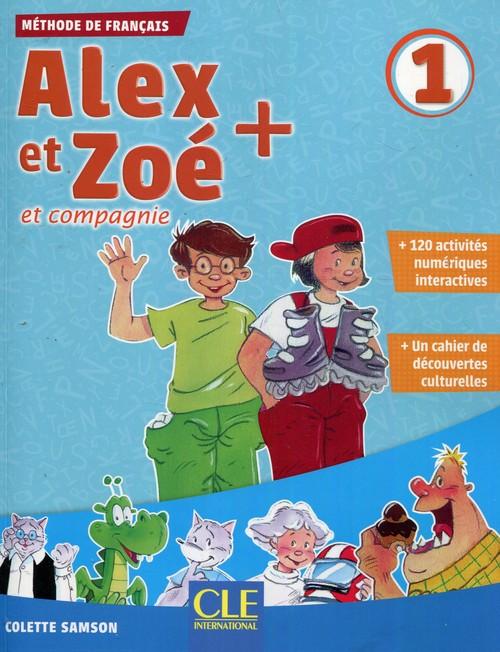 Alex et Zoe plus 1 Podręcznik + CD