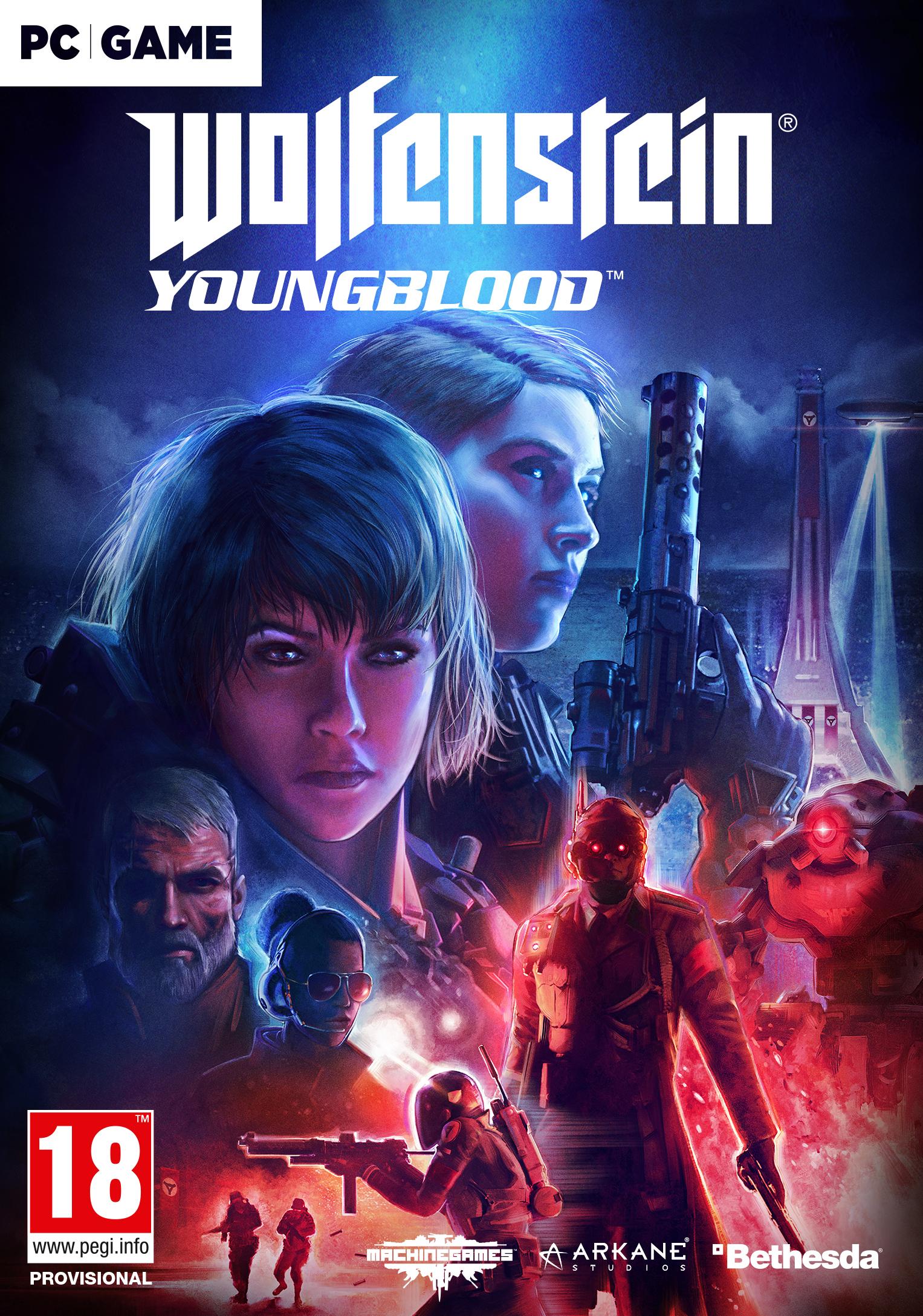 Wolfenstein Youngblood (PC) DIGITÁLIS (Bethesda.net kulcs)